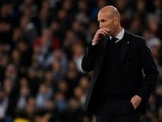 La presse catalane suspecte Zidane de ne pas respecter le confinement. AFP