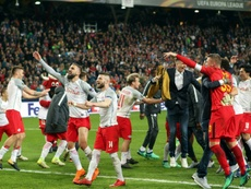 Marselha mostrou quem manda no seu estádio e resolveu a eliminatória.EFE