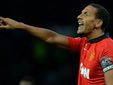 Rio Ferdinand e sua história na LaLiga. AFP