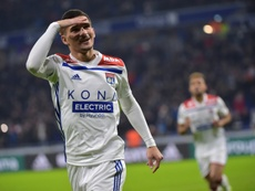 Aouar is being linked with a Real Madrid move. AFP