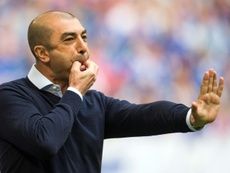 Roberto Di Matteo podría dirigir al modesto Kilmarnock. AFP