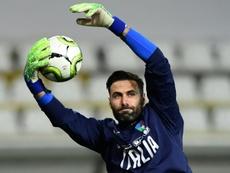 Sirigu dans le viseur de Milan. AFP