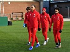 El Liverpool tiene clara que la prioridad es renovar a Van Dijk; Salah puede esperar. AFP