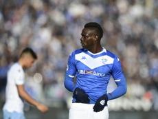 Los Angeles Galaxy sur Balotelli. AFP