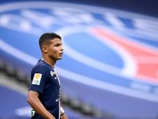 Leonardo règle ses comptes avec Thiago Silva. afp