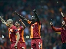 El Galatasaray perdió por 3-0 ante el Akhisar. AFP
