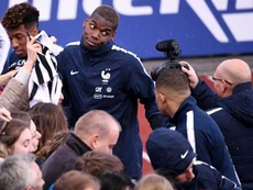 Pogba tendría una táctica para irse al Madrid. AFP