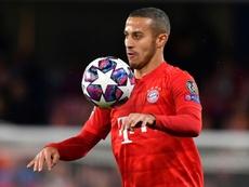 Thiago Alcantara devrait quitter le Bayern. AFP