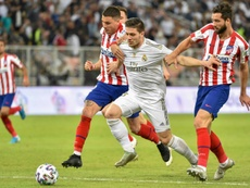 El Madrid le sigue buscando destino a Jovic. AFP