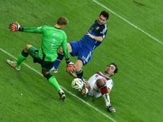 La finale de Coupe du monde contre l'Allemagne. AFP