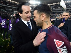 Dani Alves has conquered France. AFP