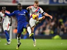 Kanté pode renovar com o Chelsea. AFP