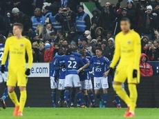 Strasbourg stunned Neymar's Paris Saint-Germain 2-1 on Saturday. AFP