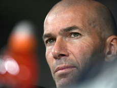 A sinister problem for Zidane. AFP