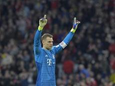 Neuer no estará ante el Leipzig. AFP
