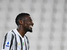 Blaise Matuidi a quitté la Juventus Turin. AFP