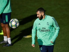 Benzema clarifie la situation. AFP