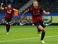 Bas Dost explica o não ao Tottenham de José Mourinho. AFP