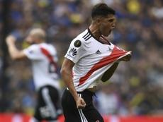 Palacios lamentó la derrota. AFP