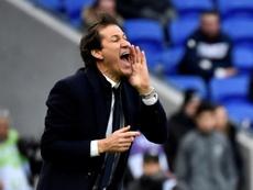 Garcia heureux de retrouver la victoire. AFP