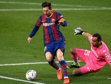 Messi is sensational off the bench. AFP