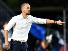 Former England boss Mark Sampson made racist remarks to Eniola Aluko in 2014. AFP