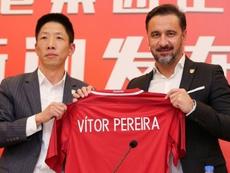Vítor Pereira gusta al Everton. AFP