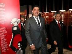 Acusan al presidente del Benfica de un supuesto trato de favor. AFP