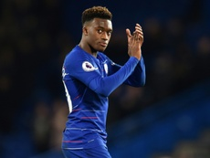 Callum Hudson-Odoi could take the number 10 jersey from Eden Hazard. AFP