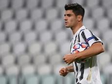Morata será um jogador da Juve, garante seu agente. AFP