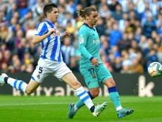Griezmann commence à convaincre au Barça. AFP