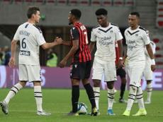 La falta de pegada condena a Girondins y Niza. AFP