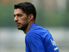 Suarez has once again been the subject of critics. AFP