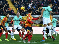 El Barça sigue considerando a Bastoni. AFP