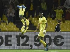 El Nantes persigue al PSG. AFP