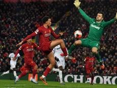 Liverpool égale le record de victoires consécutives en Premier League. AFP