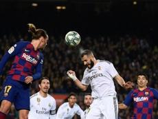 Javier Tebas donne la date et l'heure du Clásico du Bernabéu. AFP