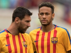 It looks like it will be difficult for Barcelona to bring Neymar back to the club. AFP