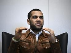 Le défenseur brésilien du Paris-SG, Dani Alves. AFP