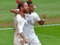 Ramos, de nuevo clave para el Madrid. AFP