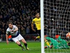 Jan Vertonghen enjoyed a fine game in an unfamiliar wing-back role. AFP
