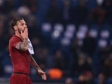 De Rossi analizó el choque contra el Madrid. AFP