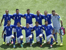 La sélection italienne avant le match de l'Euro contre la Suède, le 17 juin 2016. AFP