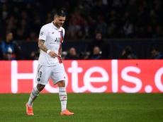 Mauro Icardi comenzó su segundo año en el PSG. AFP/Archivo