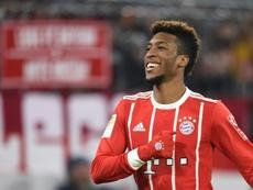 Coman cierra la temporada del Bayern. AFP