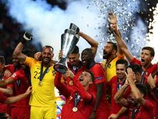 Cristiano é exaltado pela UEFA. AFP