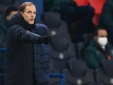 Tuchel pode chegar no Chelsea no meio do ano. AFP
