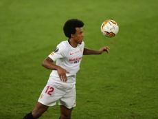 Jules Koundé está na lista de interesses de Pep Guardiola. AFP