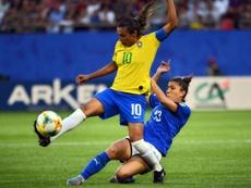 Marta dans l'histoire. AFP