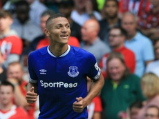Richarlison scored a fine brace to help Everton to the win. AFP